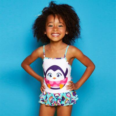 Imagem 7 do produto Conjunto de banho Pinguim: Camiseta + Maiô - Puket - KIT PK PINGUIM Camiseta + Maio Pinguim Puket-6