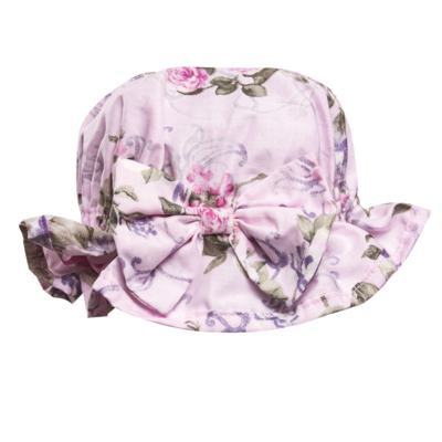 Imagem 3 do produto Conjunto de banho Floral: Bumbum + Chápeu - Roana - BAS00898046 BANHO DE SOL ROSA-G