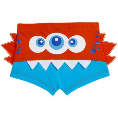 Imagem 1 do produto Sunga boxer para bebe em lycra Monster - Cara de Criança - SBB2533 MONSTRO SBB SUNGA BOXER BEBE LYCRA-4