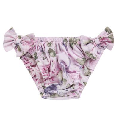 Imagem 2 do produto Conjunto de banho Floral: Bumbum + Chápeu - Roana - BAS00898046 BANHO DE SOL ROSA-M