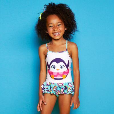 Imagem 4 do produto Maiô infantil em lycra Pinguim - Puket
