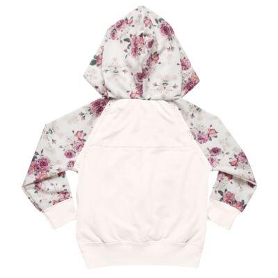 Imagem 3 do produto Blusão com Capuz e calça para bebe em molecotton Camelli - Charpey - CY14804.3500 CONJ BLUSAO C/ CAPUZ E CALÇA FADA-P
