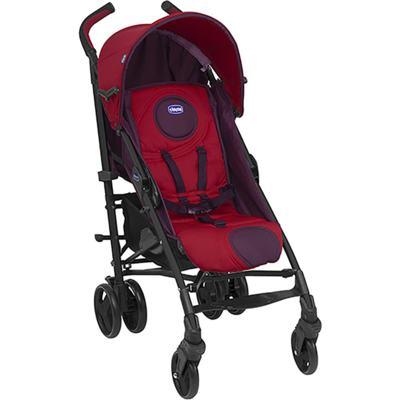 Imagem 2 do produto Carrinho de bebê Lite Way Basic Red Wave com barra de proteção Frontal Preta- Chicco