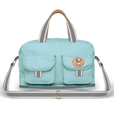 Imagem 1 do produto Bolsa maternidade para bebe Ibiza Adventure em sarja Azul - Classic for Baby Bags - BIA9023 BOLSA VIAGEM IBIZA ADV SARJA AZUL
