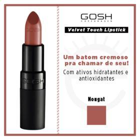 Batom Gosh Copenhagen - Velvet Touch Lipstick - Nougat