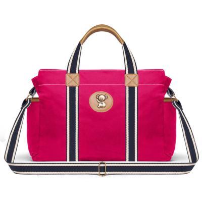 Imagem 2 do produto Bolsa Albany + Frasqueira Térmica Gold Coast + Necessaire Farmacinha em sarja Adventure Pink - Classic for Baby Bags