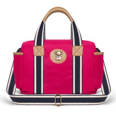 Imagem 3 do produto Bolsa Albany + Frasqueira Térmica Gold Coast + Necessaire Farmacinha em sarja Adventure Pink - Classic for Baby Bags