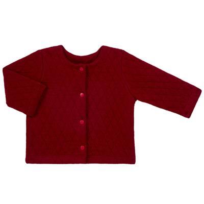 Imagem 1 do produto Casaco em moletom matelassê Vermelho - Bibe