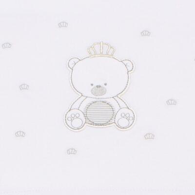 Imagem 2 do produto Jogo de lençol em malha para berço Ursinho - Classic for Baby - JLM548 JOGO DE LENCOL MALHA URSOS 2
