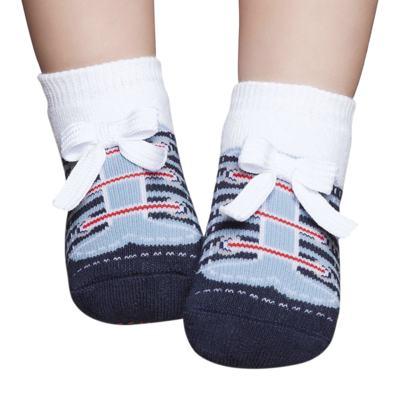 Imagem 1 do produto Meia Soquete para bebe Tênis Marinho e Azul - Puket