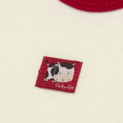 Imagem 3 do produto Body curto com Shorts para bebe em high comfort Vaquinha - Vicky Lipe - 18280001.38 CONJ.BODY C/SHORTS - SUEDINE-M