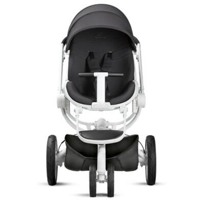 Imagem 8 do produto Travel System:  Bebe Conforto Pebble Plus Black Raven Maxi-Cosi + Carrinho Moodd Black Irony Quinny