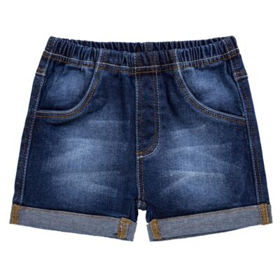Imagem 1 do produto Shorts para bebê jeans Stonewashed - Tilly Baby - TB168001 SHORTS JEANS MASCULINO-3