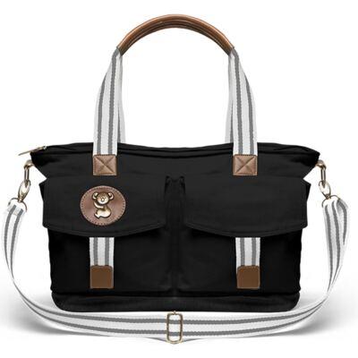 Imagem 3 do produto Bolsa Passeio para bebe + Bolsa Melbourne Adventure em sarja Preta - Classic for Baby Bags