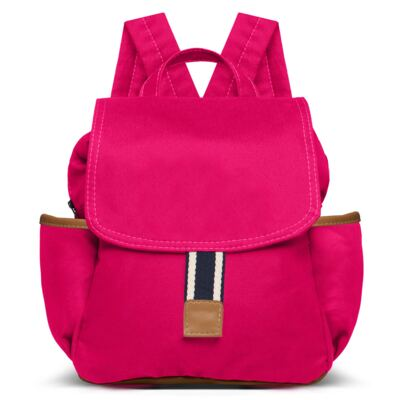 Imagem 3 do produto Bolsa Térmica para bebe + Mochila + Frasqueira Adventure em sarja Pink - Classic for Baby Bags