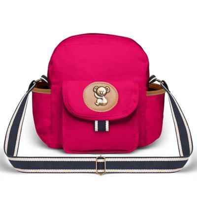 Imagem 4 do produto Bolsa Térmica para bebe + Mochila + Frasqueira Adventure em sarja Pink - Classic for Baby Bags