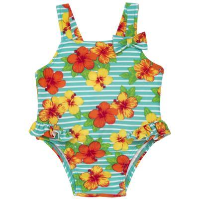 Imagem 1 do produto Maiô em lycra Tropical - Tilly Baby - TB166805 MAIO FLORAL-2