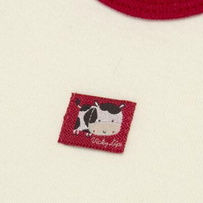 Imagem 3 do produto Body curto com Shorts para bebe em high comfort Vaquinha - Vicky Lipe - 18280001.38 CONJ.BODY C/SHORTS - SUEDINE-P