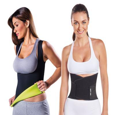 Imagem 1 do produto Fitnow T-Shirt Polishop Feminino + Shapenow - | Fitnow T-Shirt Fem. G + Shapenow Preto G