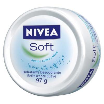 Nivea Soft 97g - Todos Os Tipos De Pele