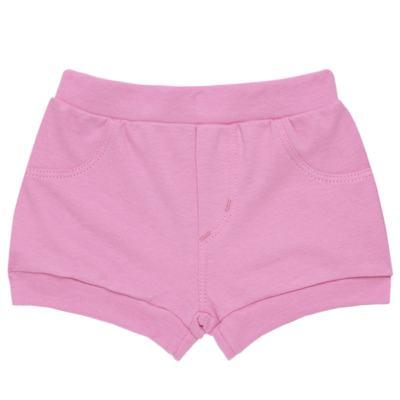 Imagem 5 do produto Body curto com Shorts para bebe em algodão egípcio c/ jato de cerâmica e filtro solar fps 50 L'Hortensia - Mini & Kids - BBI1746 CONJ. BODY M/C C/ SHORTS SUEDINE HORTÊNCIAS-M