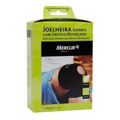 Imagem 2 do produto Joelheira Esporte com Orificio Reforçado Mercur Tamanho P