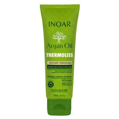 Imagem 1 do produto Inoar Argan Oil Thermoliss Desfrizante Termoativado - Balsámo Antifrizz - 240ml