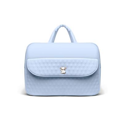 Imagem 2 do produto Kit Mala Maternidade para bebe + Bolsa Veneza + Frasqueira Térmica Milão Golden Koala Azul - Classic for Baby Bags