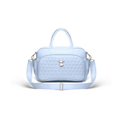 Imagem 3 do produto Kit Mala Maternidade para bebe + Bolsa Veneza + Frasqueira Térmica Milão Golden Koala Azul - Classic for Baby Bags