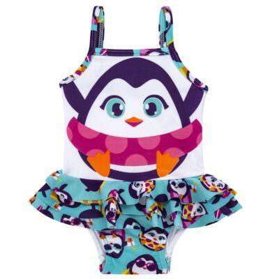 Imagem 1 do produto Maiô para bebe em lycra Pinguim - Puket