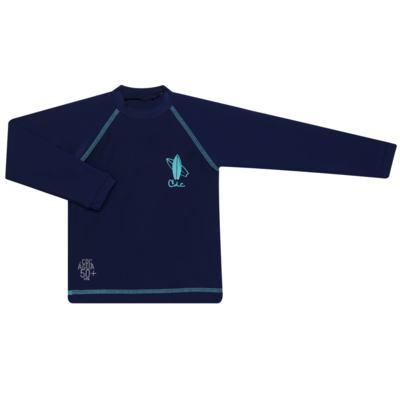Imagem 1 do produto Camiseta Surfista em lycra FPS 50 Marinho - Cara de Criança - CSAL2576 PRANCHA BLUE CSAL CAMISETA SURF AGUA LONGO LYCRA-1