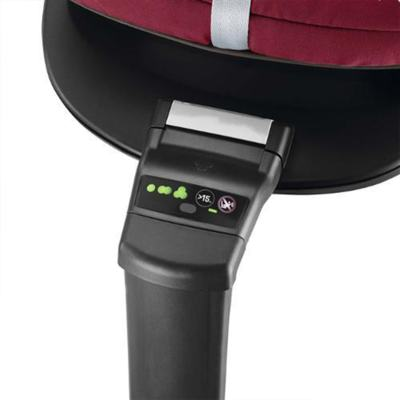 Imagem 10 do produto Travel System: Bebe Conforto Pebble Plus Maxi-Cosi + Base 2WayFix com sistema Isofix Black  Maxi-Cosi + Carrinho Zapp Xtra 2 Red Rumour Quinny