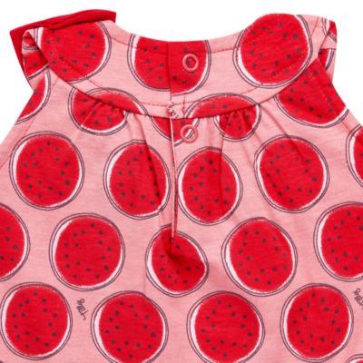 Imagem 3 do produto Macacão regata para bebe em malha Melancia - Tilly Baby - TB168443 MACACAO REGATA FEM MELANCIA-P