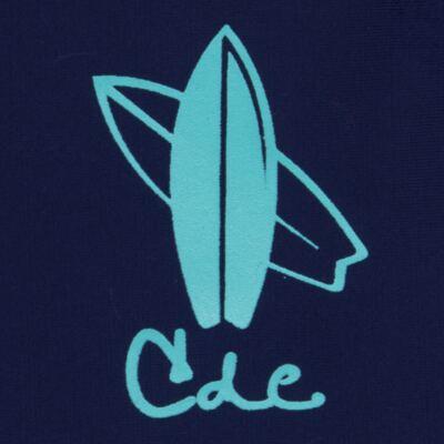 Imagem 2 do produto Camiseta Surfista em lycra FPS 50 Marinho - Cara de Criança - CSAL2576 PRANCHA BLUE CSAL CAMISETA SURF AGUA LONGO LYCRA-4