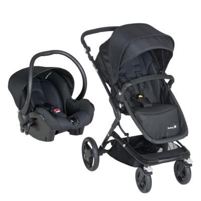 Imagem 1 do produto Travel System Kokoon: Carrinho Kokoon e Bebê Conforto One Safe XM Full Black  - Safety 1st