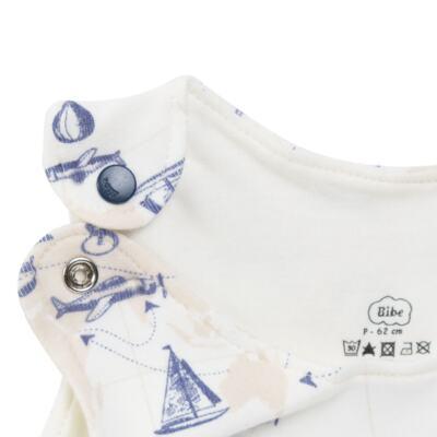 Imagem 3 do produto Macacão regata para bebe em algodão egípcio Bon Voyage - Bibe - 41D40-H56 BANHO DE SOL MASC BON VOYAGE-M