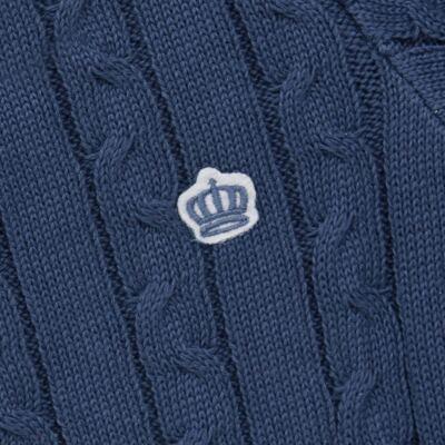 Imagem 2 do produto Blusão em tricot Azul - Baby Classic