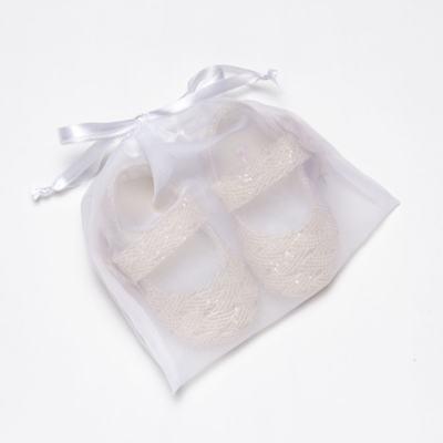 Imagem 5 do produto Sapatilha gliter para bebe Flor Rosê - Roana - SPE00039003 Sapatilha Especial Rose Flor -G