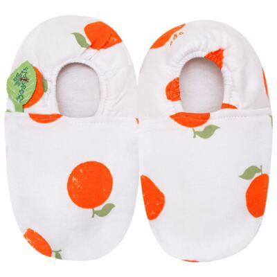 Imagem 1 do produto Pantufa Laranjinha - Cara de Criança - P0493 PANTUFA LARANJINHA-25/26