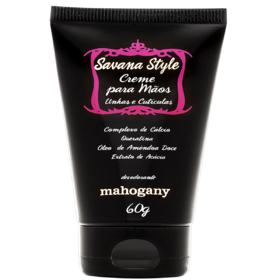 Estojo Savana Style Fragrância Desodorante 100ml + Creme Para Mãos Mahogany 60g