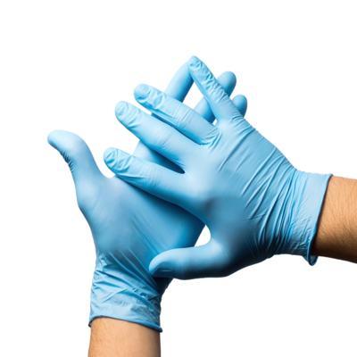 Imagem 1 do produto Luva Nitrilica Azul Nugard - M AZUL