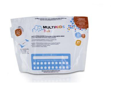 Imagem 2 do produto Saquinhos para Esterilizar No Microondas 6Pcs Multikids Baby - BB157