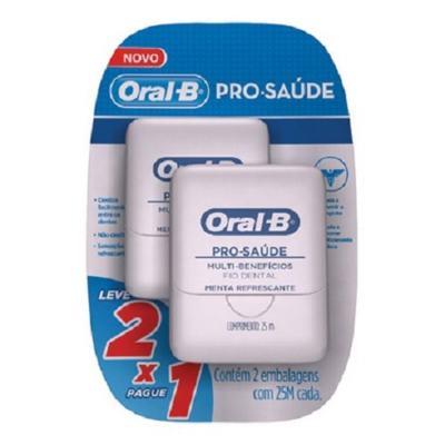 Imagem 1 do produto Kit Fio Dental Oral B Pró Saúde 25M 2 Unidades