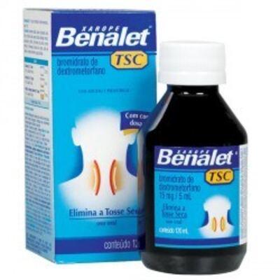 Imagem 1 do produto Benalet Tsc Xarope Johnson´s 120ml