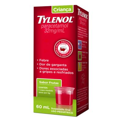 Imagem 3 do produto Tylenol Criança 160Mg/5Ml 60Ml Suspensão -