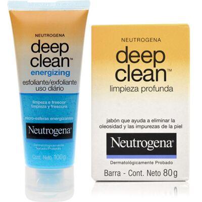 Imagem 1 do produto Energizing Neutrogena Deep Clean 100g + Neutrogena Sabonete 80g