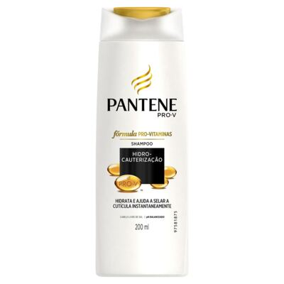 Imagem 2 do produto Kit Pantene Hidro-Cauterização Shampoo 200ml + Condicionador 3 Minutos Milagrosos 170ml