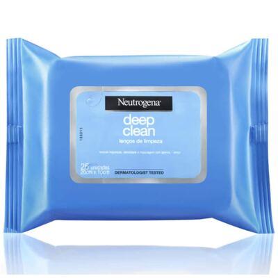 Imagem 2 do produto Neutrogena Loção Removedora De Maquiagem 200ml + Lenço De Limpeza Facial Demaquilante Neutrogena C/7
