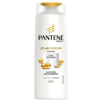 Imagem 2 do produto Kit Pantene Liso Extremo Shampoo 200ml + Condicionador 3 Minutos Milagrosos 170ml