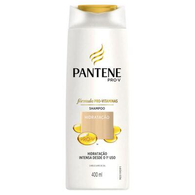 Imagem 2 do produto Kit Pantene Shampoo Hidratação Intensa 400ml + Ampola Hidro Cauterização 15ml